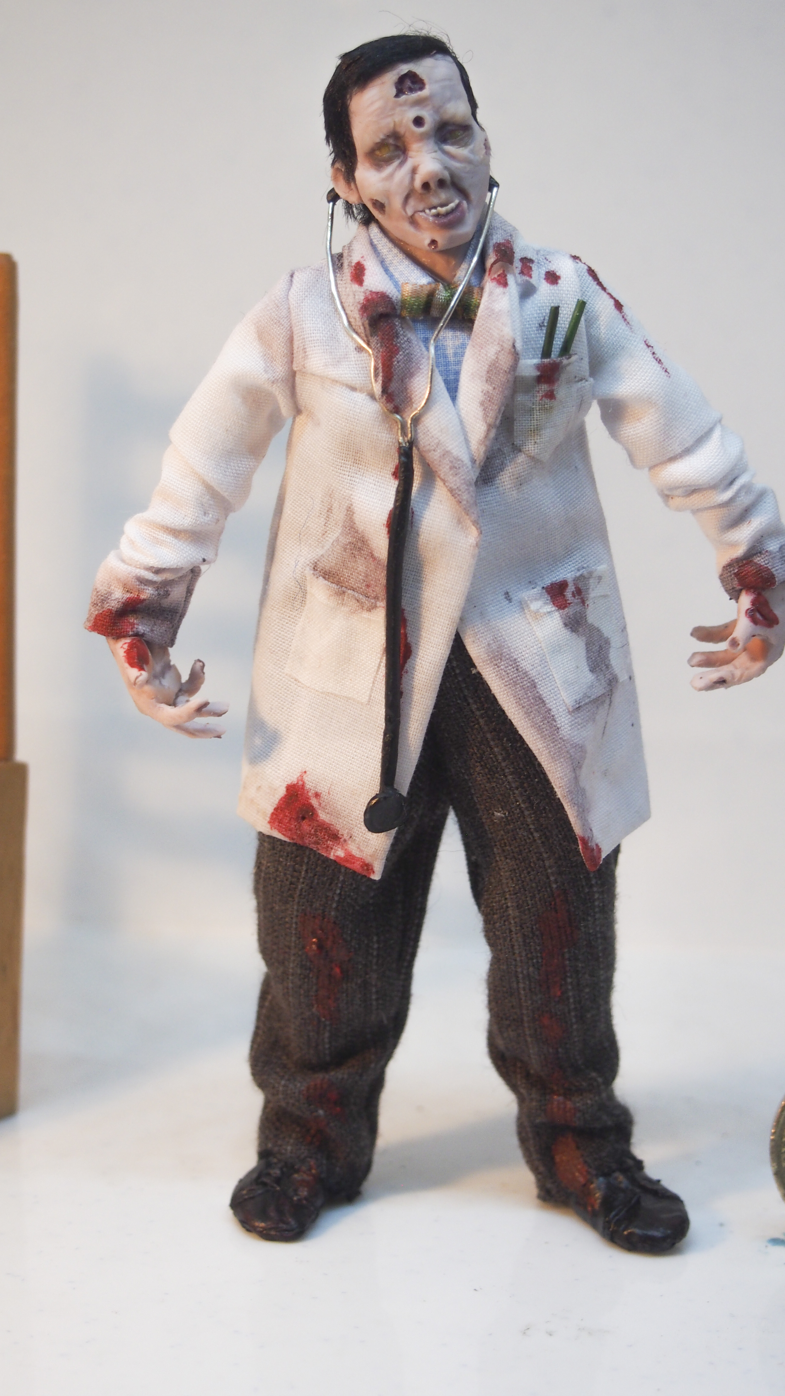zombie asian doctor
